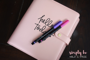 Daily Self Care Routine - Journaling the Day