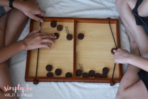 Pucket Game is a Great Rainy Day Activity for Kids