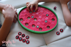 Word A Melon Indoor Games for Kids