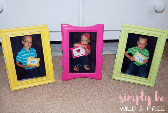 Photo Gift Idea for Dad - Super Cute Fathers Day Craft