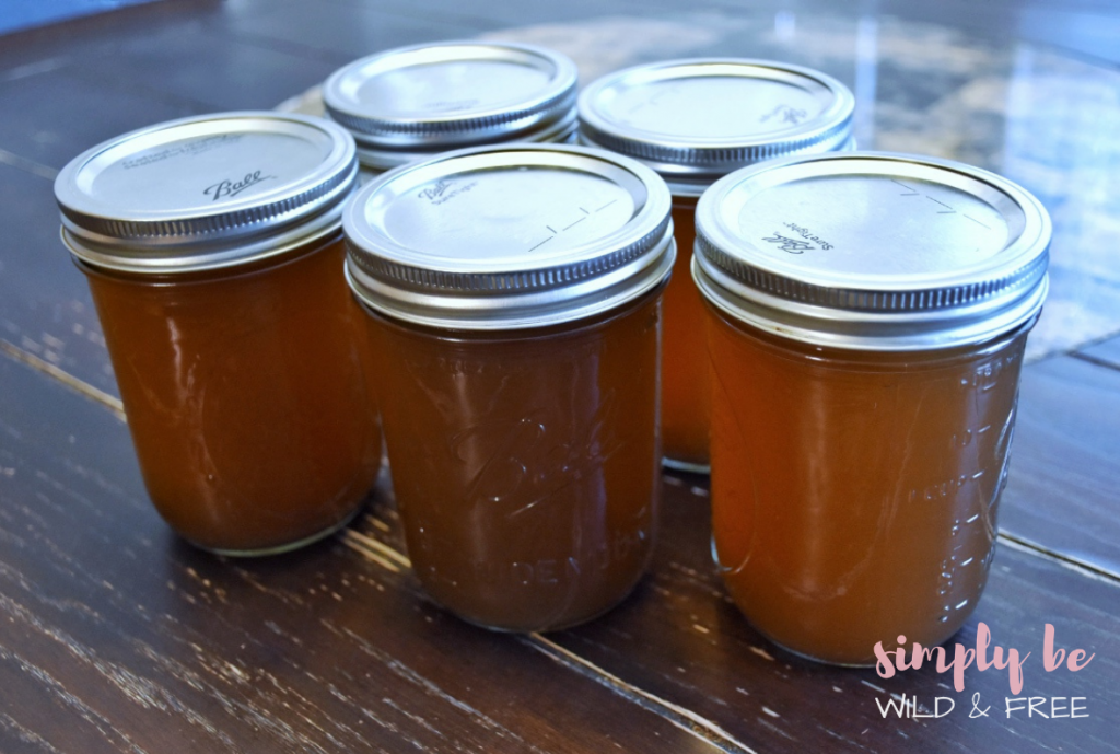 Canning Your Vegetable Stock Recipe